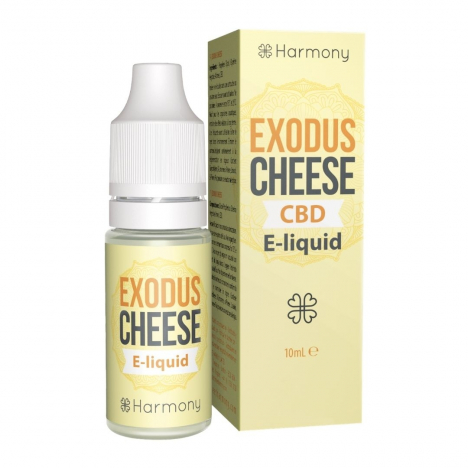 e-liquid cbd harmony sabor exodus cheese 10ml