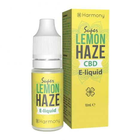 e-liquid cbd harmony sabor super lemon haze diesel 10ml