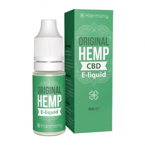 e-liquid cbd harmony sabor original hemp 10ml