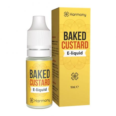 E-liquid CBD sabor baked custard o natilla horneada fabricado por Harmony CBD