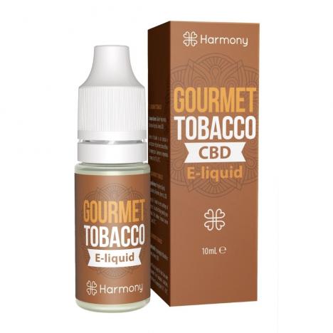 E-liquid CBD sabor Gourmet Tobacco fabricado por Harmony CBD