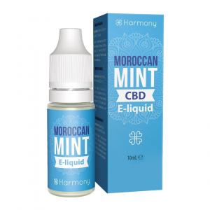 E-liquid CBD sabor Moroccan Mint fabricado por Harmony CBD