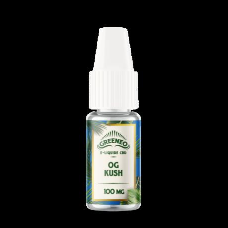 e-liquid CBD sabor og kush de greeneo